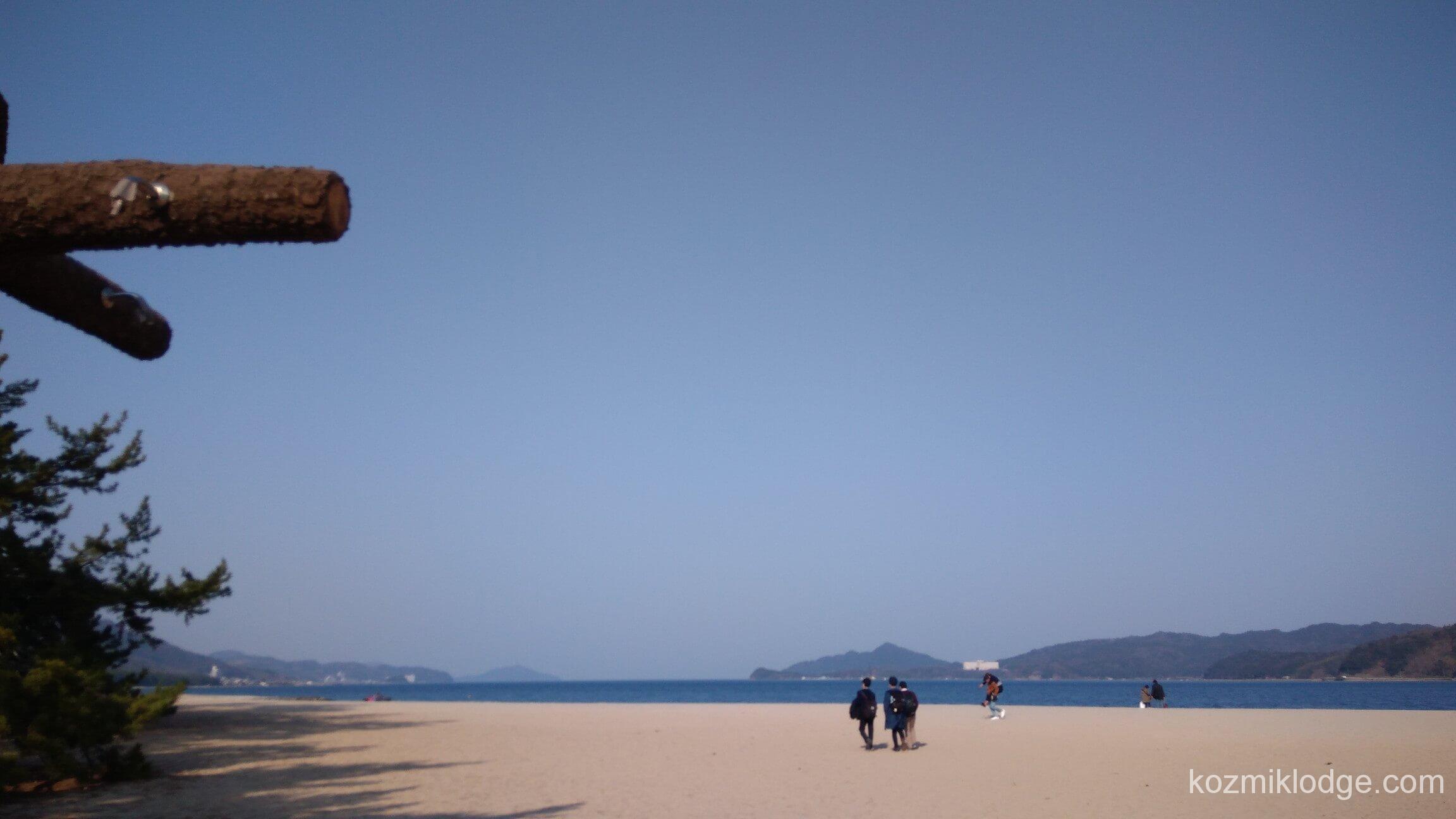 【天橋立~籠神社】清々しく風を切って、前へ。